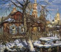 le jardin en hiver by ivan komarovsky
