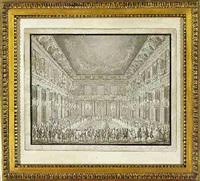 interior fra christiansborg slot udfort i anledning af holbal ved christian vii's formæling til caroline mathilde by nicolas-henri jardin