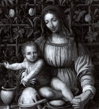 madonna and child by francesco melzi