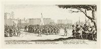 les grandes misères de la guerre - les misères et les malheurs de la guerre (17 works) by jacques callot