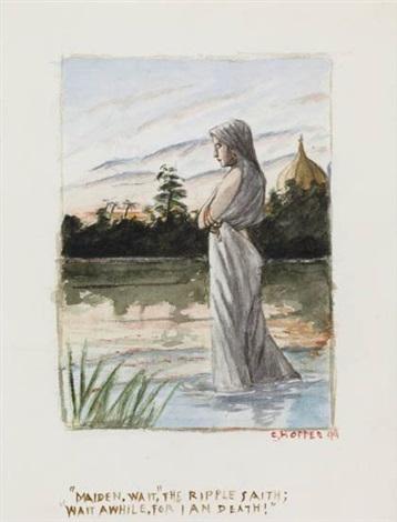 maiden wait the ripple saith by edward hopper