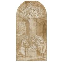 the nativity by bernardino campi