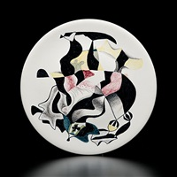 abstract plate by paul ninas