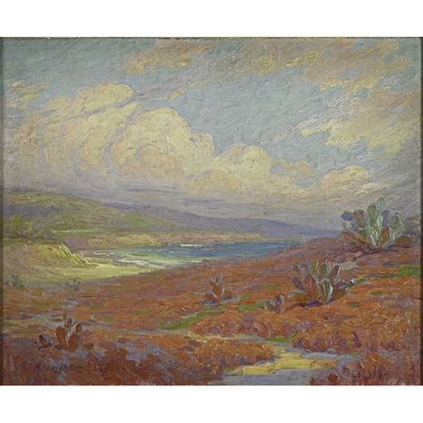 the coast of santa monica california grand canyon 2 works by henry james albright