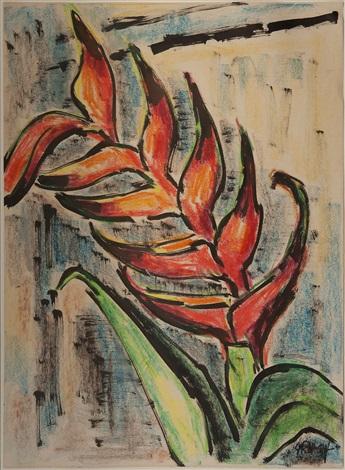 exotische blüten by karl schmidt rottluff