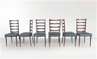 six chairs by paolo buffa