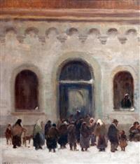 entrando a la iglesia by jacques witjens