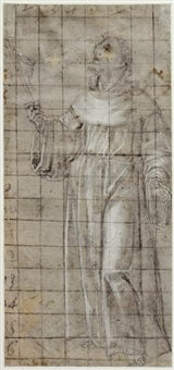 saint bernard by andrea sacchi