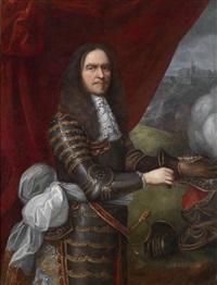 bildnis des henri de la tour d'auvergne, vicomte de turenne (1611-1675), maréchal de france by pierre mignard the elder