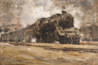 locomotive by vilem kreibich