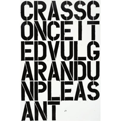 untitled w38 by christopher wool