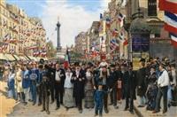 la marseillaise by jean béraud