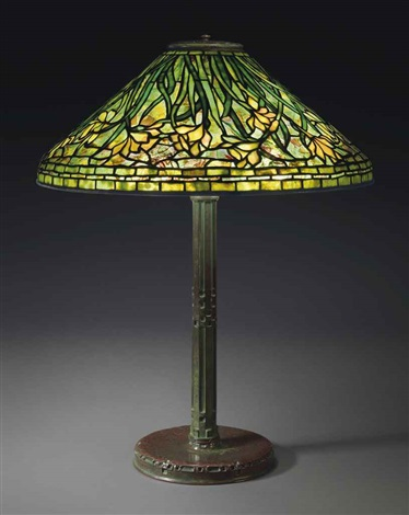 daffodil table lamp by tiffany studios