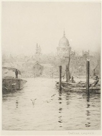 st. paul's (+ 2 others; 3 works) by roland langmaid