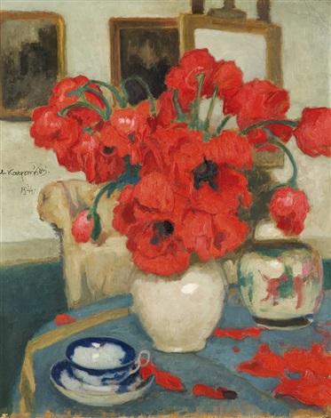 poppies by alfons karpinski