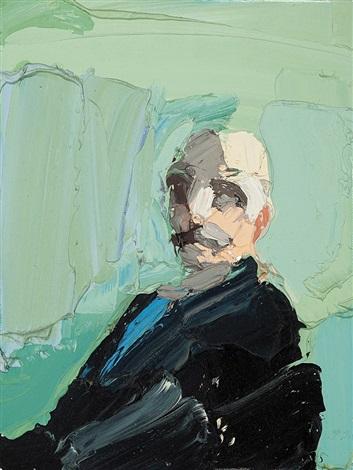 Portrait After Self Portrait By Arthur Streeton By Ben