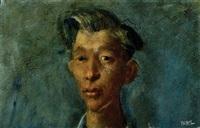 head of a boy by william dobell