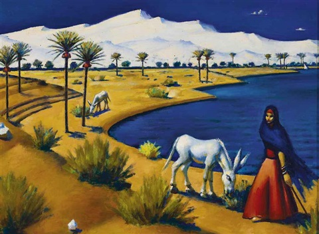 marsa matrouh - vers le bain de cléopâtre by mahmud said