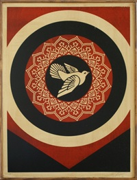 peace dove by shepard fairey