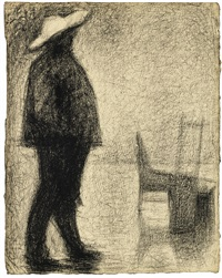 fort de la halle by georges seurat