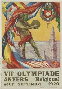 viie olympiade, anvers 1920 by walter van der ven and martha van kuyck