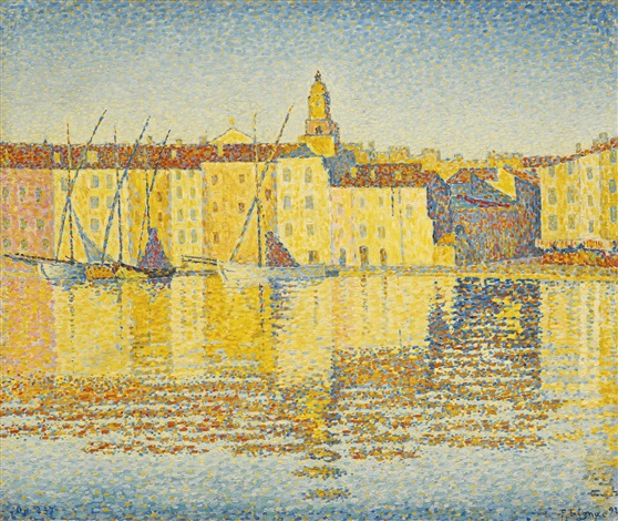 Maisons Du Port Saint Tropez By Paul Signac On Artnet