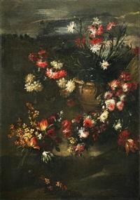natura morta di fiori by margherita caffi