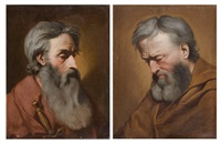 saint pierre (+ saint paul; pair) by pierre hubert subleyras