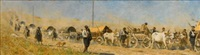transportation of the wounded by vasili vasilievich vereshchagin