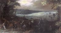 portrait équestre d'un maréchal de france by sauveur le conte