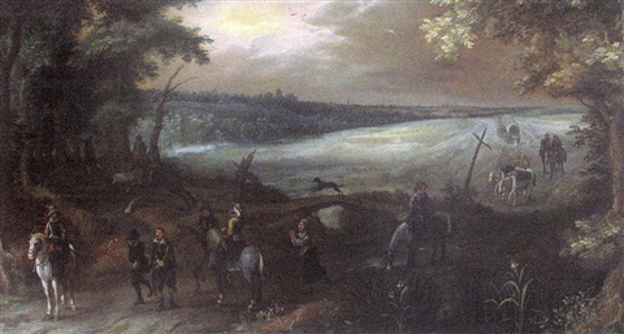 portrait équestre dun maréchal de france by sauveur le conte