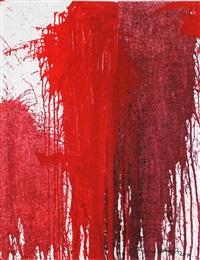 red motive by hermann nitsch