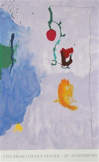 live from lincoln center, 20th year by helen frankenthaler