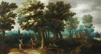 la rencontre à l'orée du bois by claes dircksz van der heck
