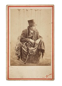autoportrait dans sa nacelle (+ 3 others; 4 works) by nadar