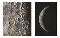 untitled (+ 68 others, 69 works from atlas photographique de la lune, in collab. w/maurice loewy) by pierre puiseux