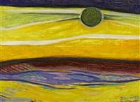 spanish landscape by werner drewes