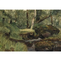 forest interior by william brymner