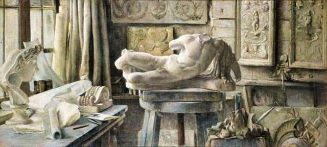 atelier van de beeldhouwer by berthe art