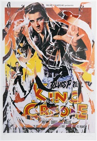 king creole by mimmo rotella