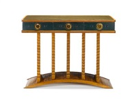 console table by lazlo hoenig