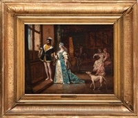 na dworze franciszka i (kobieta zmienną jest) by ladislaus bakalowicz
