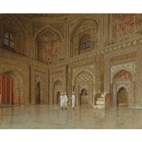 the chief mosque in futtehpore sikri by vasili vasilievich vereshchagin