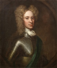half-length portrait of john, 2nd duke of argyll by william aikman