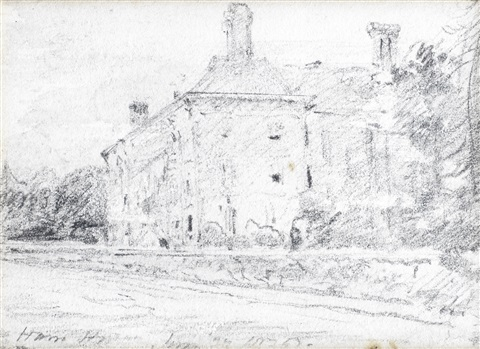 ham house by john constable