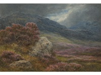 bonny purple heather by james faed the younger