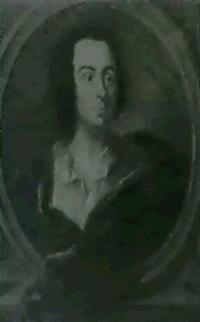 portrait d'un homme dans un encadrement by claude arnulphy