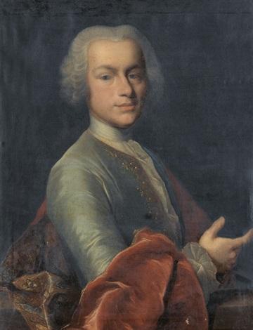porträt des franz christoph müller by johann rudolf daelliker