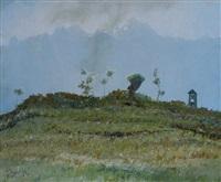 paesaggio montano by giuseppe pessina