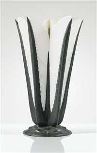 grand lampe aloes by albert cheuret